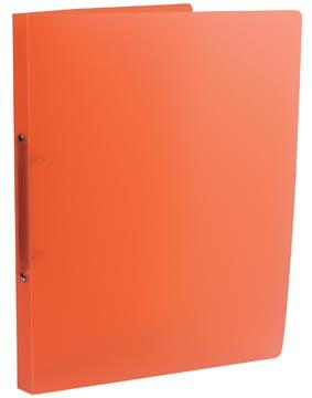 Class'ex ringmap, 2 ringen van 16 mm, transparant oranje