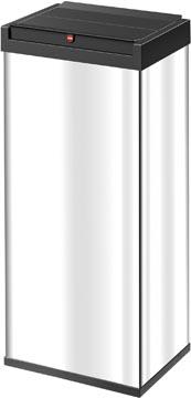 Hailo afvalbox Bigbox Swing, 52 liter, zilver