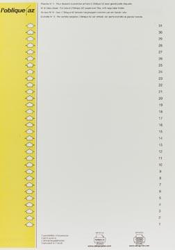 Elba ruiterstrook type 9, vel met 31 etiketten, geel