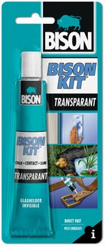 Bison kit contactlijm Transparant