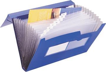 Beautone voorordner, A4, 13 vakken, blauw