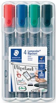 Staedtler merkstift Lumocolor Flipchart 4 stuks