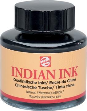 Talens Oostindische inkt, flesje van 30 ml, zwart