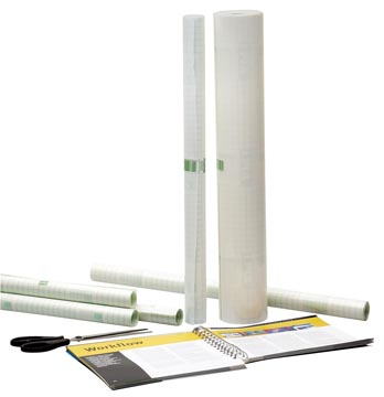 Apli zelfklevende plastic op rollen ft 3 m x 0,5 m (50 micron)