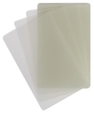 STAR lamineerhoes ft 54 x 86 mm, 100 micron (2 x 50 micron), pak van 100 stuks