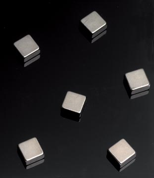 Naga Magneten voor glasborden 6 stuks, ft 10 x 10 x 5 mm