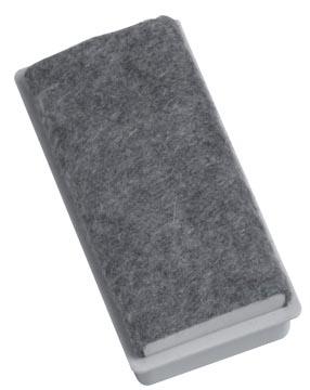 Naga Magnetische bordenwisser voor witborden, ft 7,5 x 3,5 x 2,4 cm