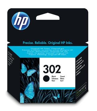 HP inktcartridge 302, 190 pagina's, OEM F6U66AE, zwart