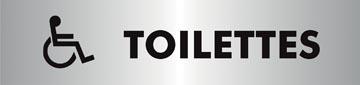 Stewart Superior zelfklevend pictogram toilettes pour handicapés