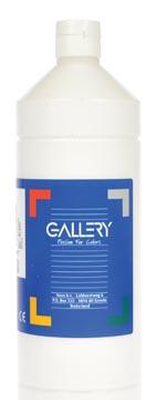 Gallery plakkaatverf, flacon van 1 l, wit