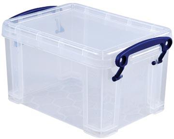 Really Useful Box opbergdoos 1,6 liter, transparant