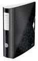 Leitz WOW ordner Active rug van 8,2 cm, zwart