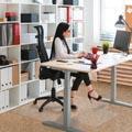 Floortex vloermat Valuemat, voor tapijt, ft 120 x 90 cm, met uitsparing