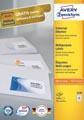 Avery Zweckform 3420, étiquettes universelles, Ultragrip, blanc, 100 feuilles, 70 x 16,9 mm