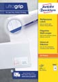 Avery Zweckform 3664, étiquettes universelles, Ultragrip, blanc, 100 feuilles, 70 x 33,8 mm