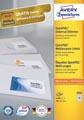 Avery Zweckform 3666, étiquettes universelles, Ultragrip, blanc, 100 feuilles, 38 x 21,2 mm