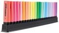 STABILO BOSS ORIGINAL markeerstift, deskset van 23 stuks in geassorteerde kleuren